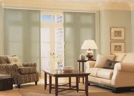 Triple Window Curtains Sliding Glass Door Blinds U0026 Window Treatments Budget Blinds