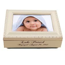 personalized keepsake boxes engraved baptism frame keepsake box the catholic company