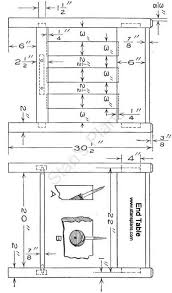 Free End Table Building Plans by Top 25 Best End Table Plans Ideas On Pinterest Coffee And End