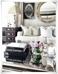 Best Tray And Coffee Table Vignettes Images On Pinterest - Decorations for living room tables