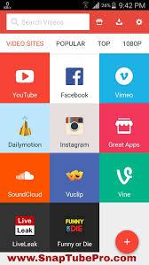 downloader for apk snaptube downloader apk version snaptube