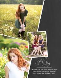 how to make a senior yearbook ad layout senior ad idea simple won t need many pictures and
