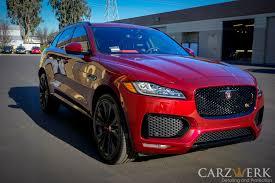 jaguar f pace inside 2017 jaguar f pace s enhancement project carzwerk