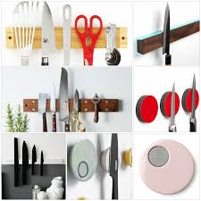 magnetic strips for kitchen knives knife magnetic strip so you have all kitchen knives in view