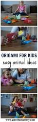 how to make a paper zoo easy origami animals for kids wave to mummy