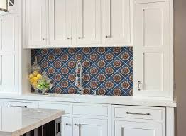 blue and white backsplash tiles different types of glass for