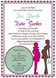 joint bridal shower invitation wording bridal shower invitations