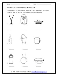 capacity worksheets free worksheets library download and print