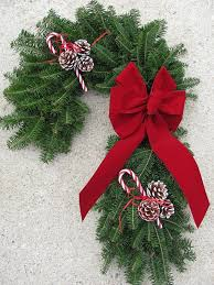 Decorating Fresh Christmas Wreaths by 55 Best Christmas Wreaths Images On Pinterest Wreaths For Door