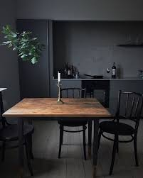 dark interior back to black decorating with dark color schemes