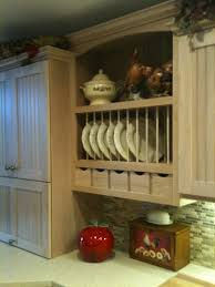 Kitchen Cabinet Plate Rack by Kitchen Is Done Pamdesigns