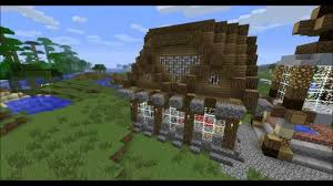 minecraft epic small house and a new town youtube