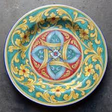 painted platter painted platter archives italian pottery outlet