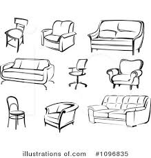 Dining Room Table Clipart Black And White Clipart Of Furniture Clipart Collection Furniture Clipart