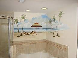 sea decor for bathroombeach style bathroom designs beach decor