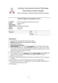 ecs 315 probability and random processes