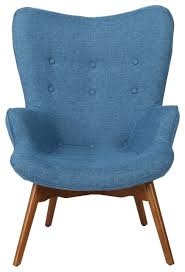 Retro Accent Chair Acantha Mid Century Modern Retro Contour Chair Midcentury