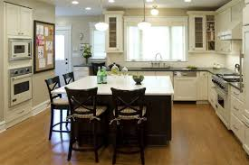 kitchen islands with seating in traditional style