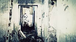 witch abandoned house 1 simple the ghost of a woman with long