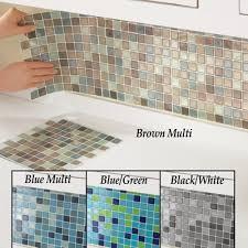 Mosaic Backsplash Tiles Set Of  From Collections Etc - Mosaic backsplash tile