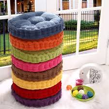 Round Outdoor Bistro Chair Cushions by Round Chair Cushions Home And Textiles