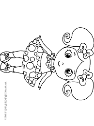 coloring pages girls print printable kids colouring throughout for