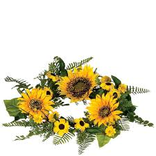 flower candle rings 6 5 inch sunflower floral candle rings