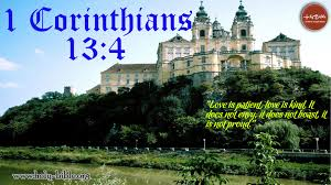 Verses For Wedding Invitation Cards Bible Verse Of The Day U2013 1 Corinthians 13 4 Holy Bible