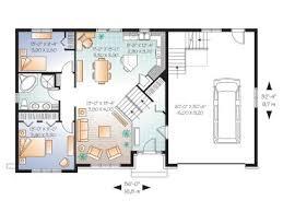 split level house plans split level home plan with finished