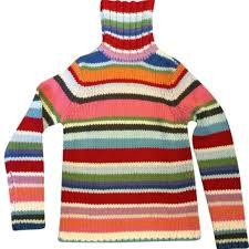 reduced gap rainbow turtleneck sweater rainbows customer