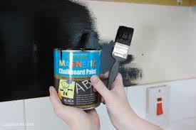 my mini kitchen makeover diy chalkboard walls u0026 bright accessories