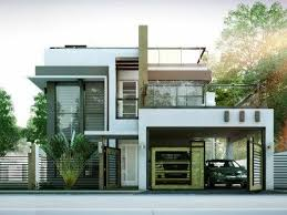 2 Storey House Modern Two Story House Plans