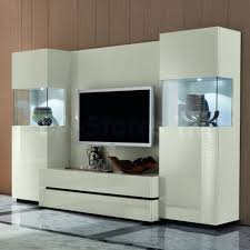 Tv Unit Designs For Living Room Living Two Teak Wood Living Room With Glass Panel Doors Of