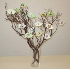 Centerpieces For Family Reunions Table by Family Tree Craft Project Family Tree Centerpiece Idea