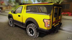 Ford F 150 Yellow Truck - ford f 150 raptor fshh for gta san andreas