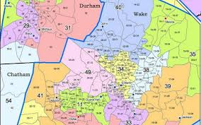 Map Of Raleigh Nc Redistricting Alternate Maps Of Nc Districts Released To Address