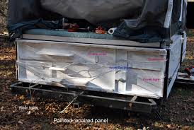 2003 coleman cheyenne rear panel coming loose popupportal