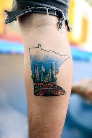 oregon usa skyline tattoos popsugar smart living photo 15