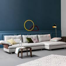 the gossip sofa stands out for the special system of mix and match