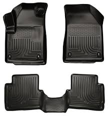 amazon com husky liners front u0026 2nd seat floor liners footwell