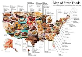 Get Out The Map This Map Identifies Your State U0027s Signature Food Heads Up By Boys