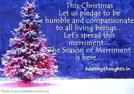 this let us pledge to be humble and compassionate to all