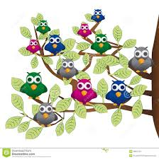 flock of birds clipart cartoon pencil and in color flock of