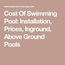 best 25 swimming pool prices ideas on pinterest inground