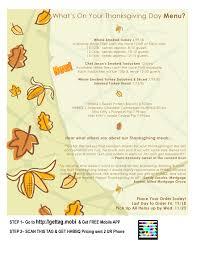 thanksgiving meal deals hempen hill bbq