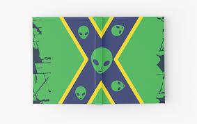 Rebel Flag Iphone 4 Case Alien Confederate Flag
