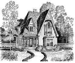Storybook Cottage House Plans 52 Best Vintage House Plans Images On Pinterest Vintage Houses