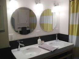 Circle Bathroom Mirror Bathroom Mirrors Ikea With Double Sink Steam Shower Kits Ebay