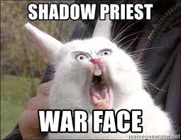 War Face Meme - shadow priest war face rabbit on alert meme generator