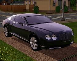 bentley car fresh prince creations sims 3 2010 bentley continental gt